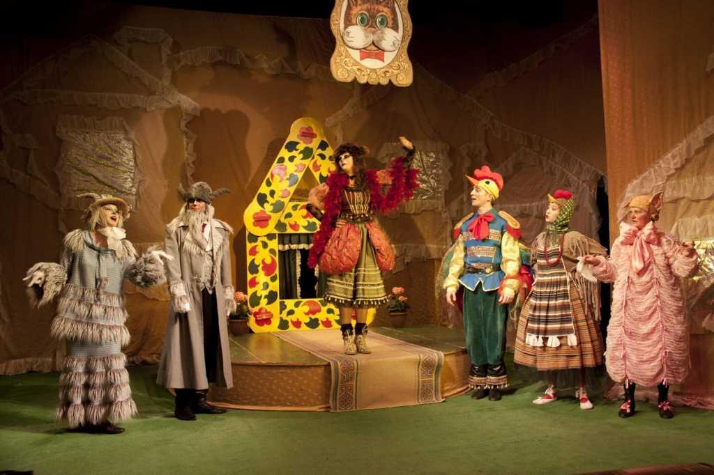 Детский театр - сказки, пьесы, сценарии