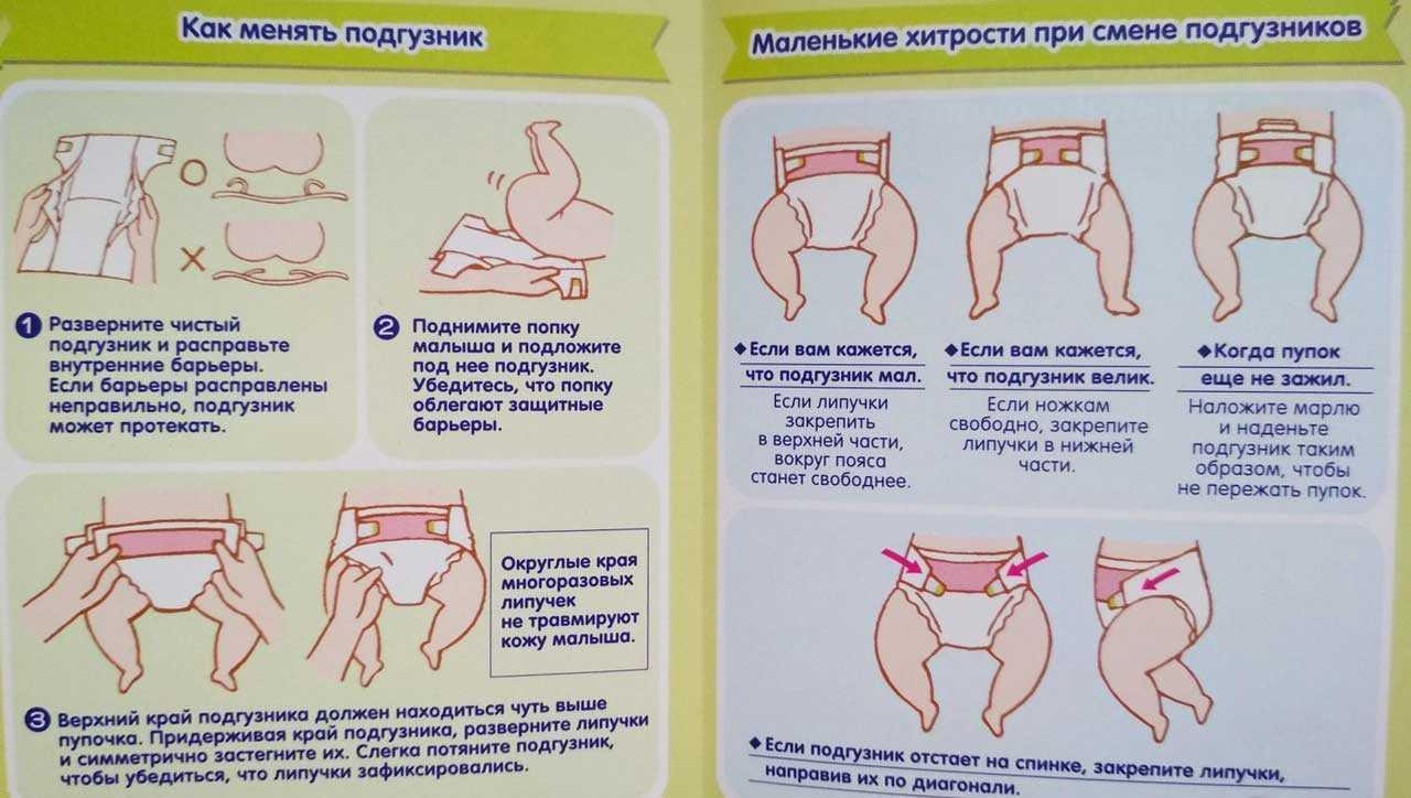 Какие памперсы лучше для новорожденного   уроки для мам