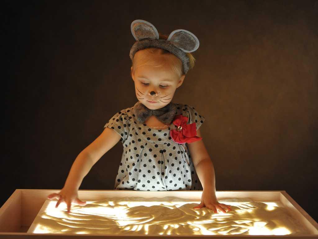 Стол для рисования песком с подсветкой своими руками
