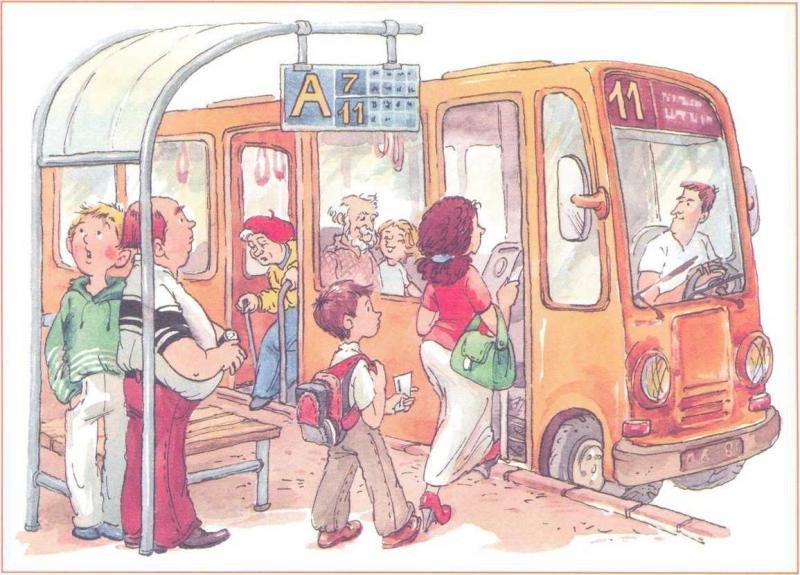 Правила поведения в школьном автобусе