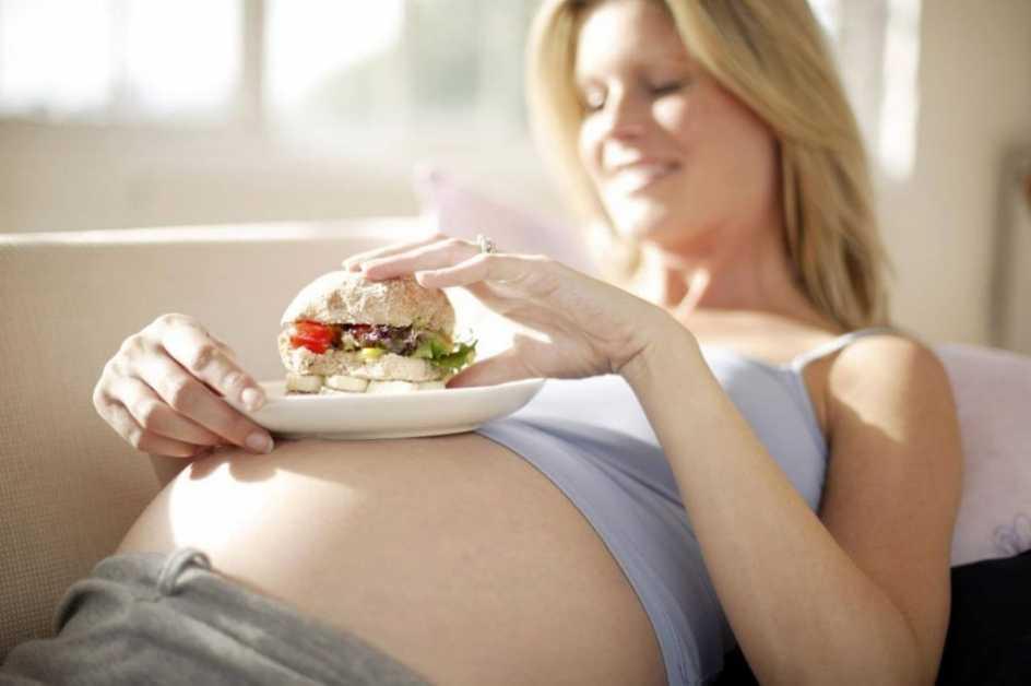 Диета беременной женщины перед родами