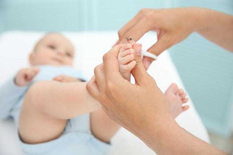 Когда можно подстригать ногти новорожденному - всё о грудничках