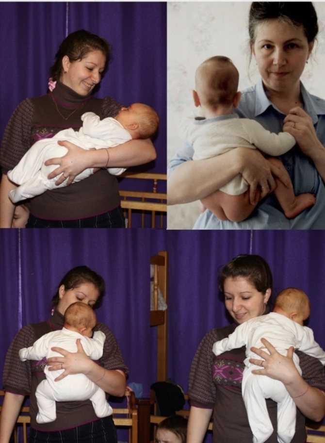 Как нельзя держать грудничка фото?   мамина любовь