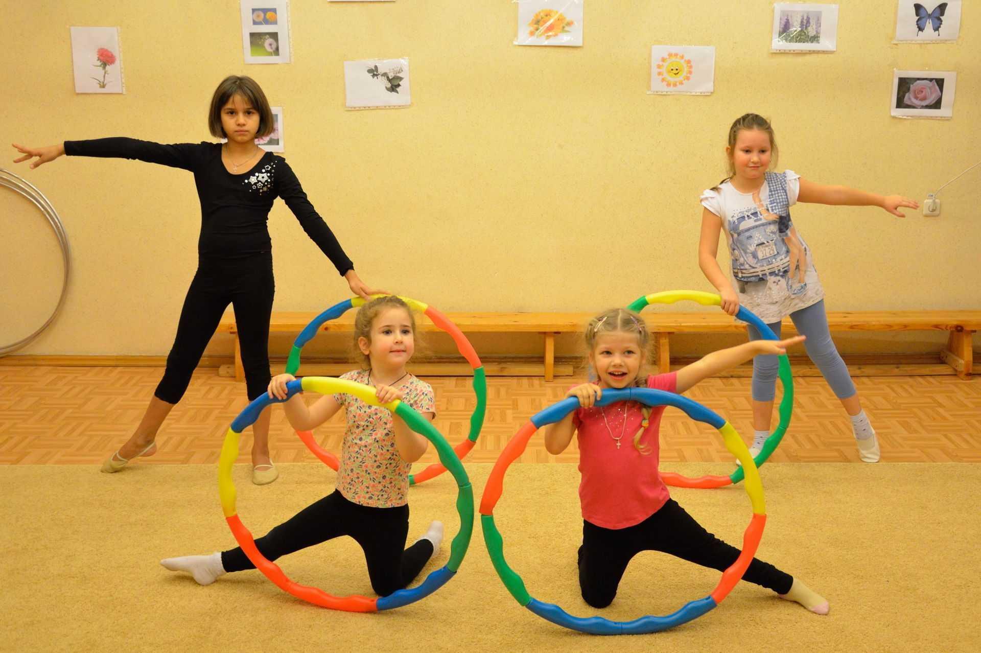 Ребёнок и программа детской аэробики: комплекс упражнений