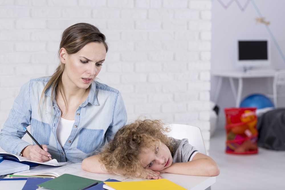 Что делать, если у ребенка синдром рассеянного внимания?