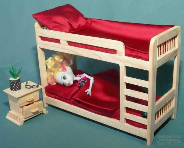 100 лучших идей: как сделать мебель для кукол на фото