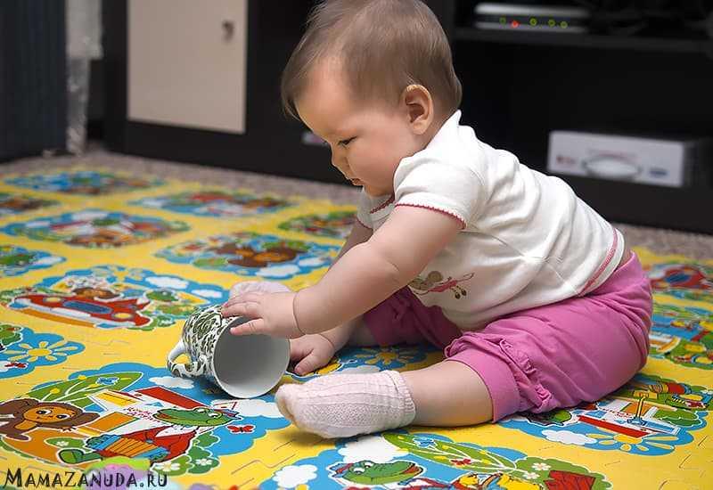 Развитие ребёнка от 6 до 7 месяцев