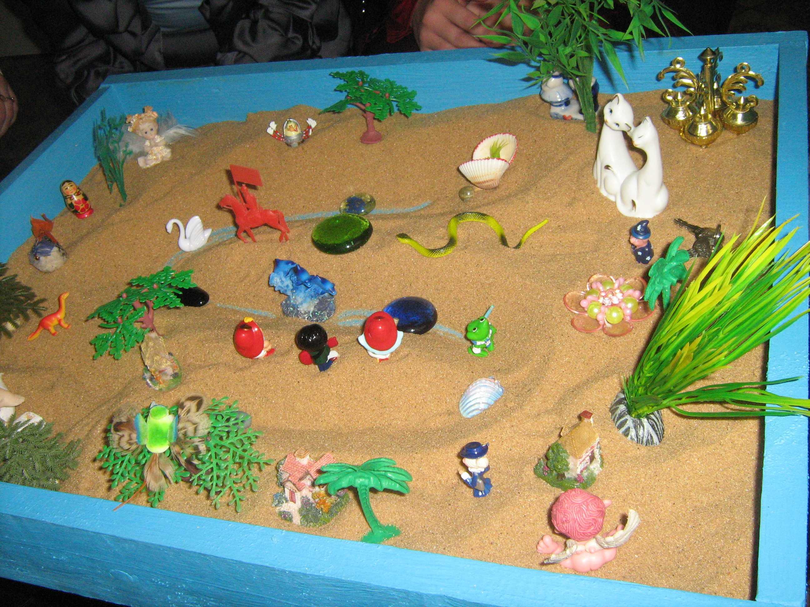 Консультация для родителей: «песочная игровая терапия (сендплей)»