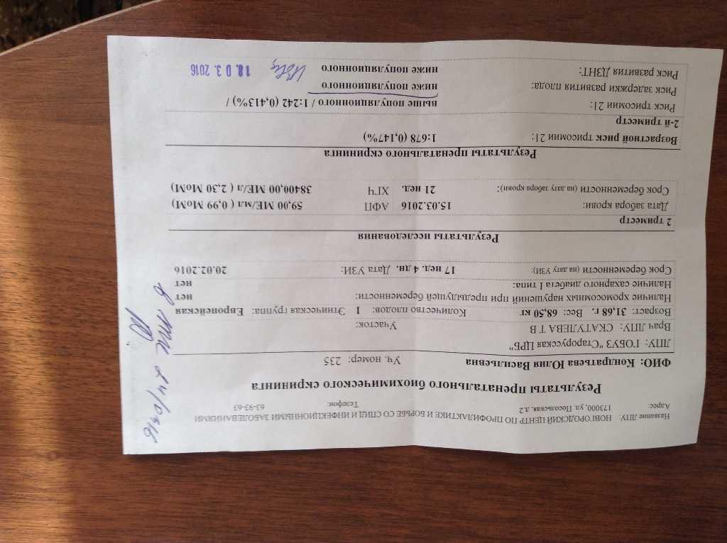 Узи скрининг 1 триместра: нормы и расшифровка