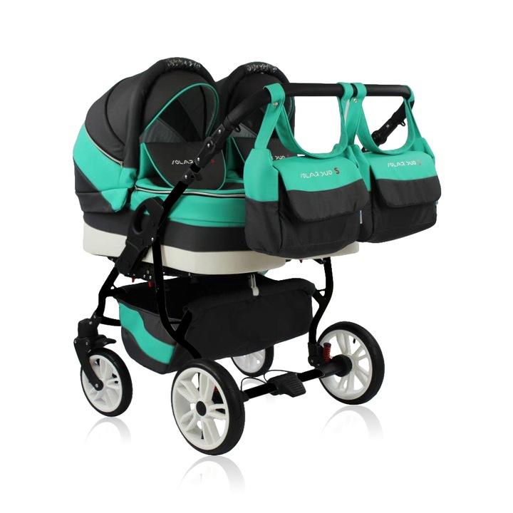 Коляска для двойни – как правильно выбрать первый транспорт для малышей?
