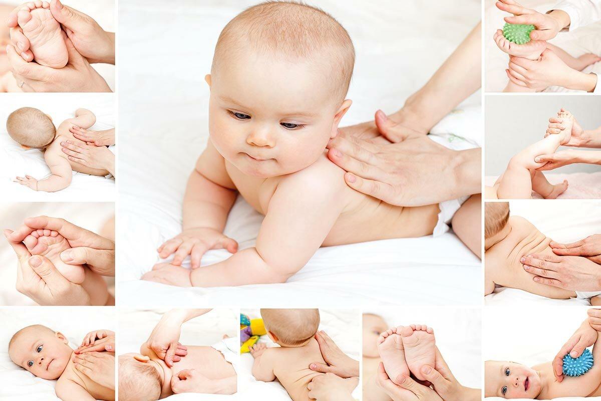 Массаж ребенку в 6, 7 и 8 месяцев: как делать детский общеукрепляющий массаж в домашних условиях