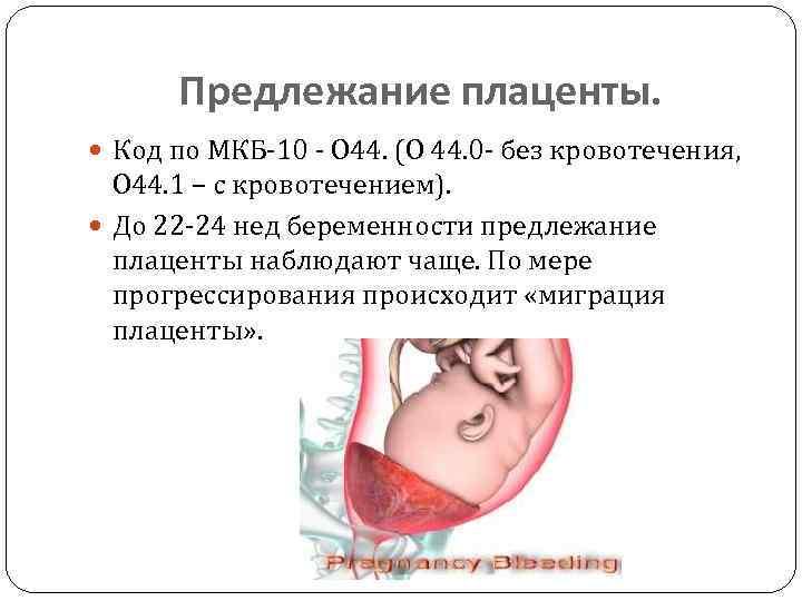 Чем опасно низкое прикрепление плаценты при беременности?