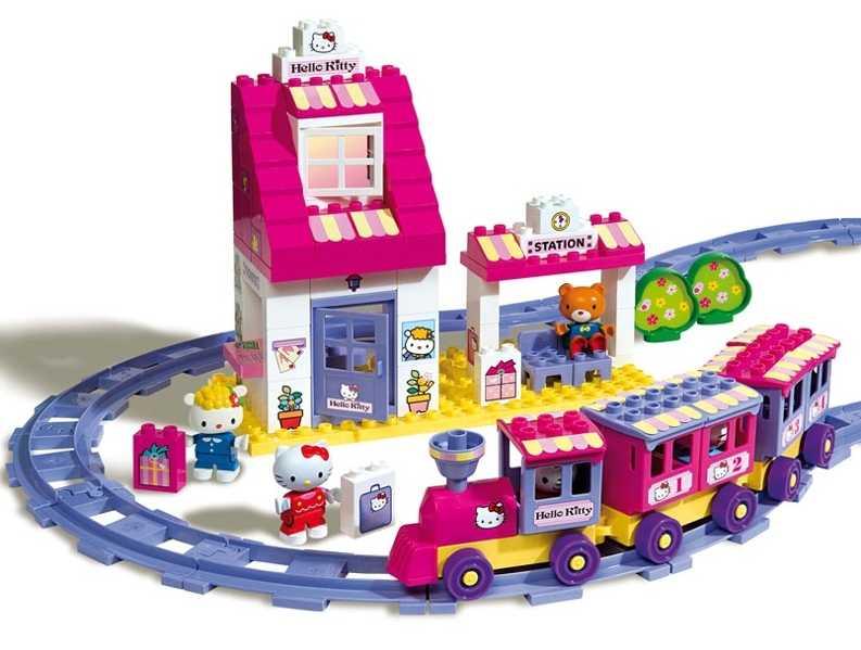 Конструктор для девочки: детские модели от 5-7 лет, конструкторы-игрушки и бусы, домики