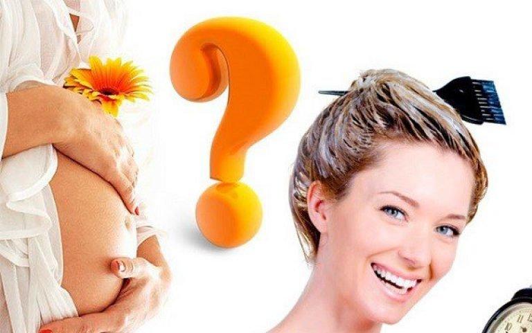 Чем можно красить волосы беременным? стричь волосы во время беременности