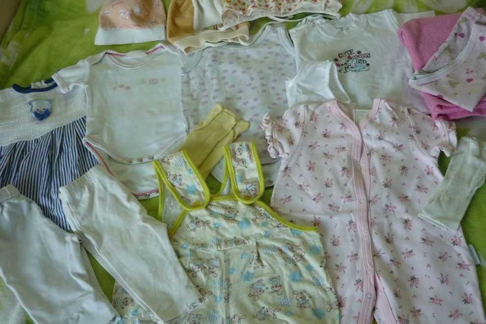 Уход за новорожденным и месячным ребенком