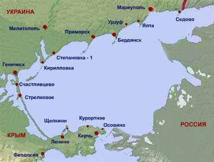 Крым, азовское море: где находится, выбор жилья, отзывы - gkd.ru