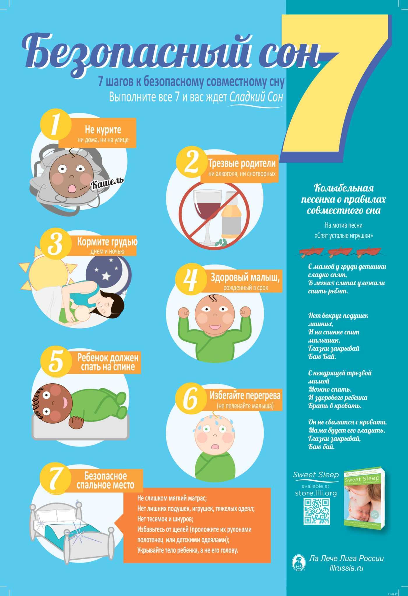 Как уложить новорожденного и грудничка спать, 8 причин нарушения сна у ребенка