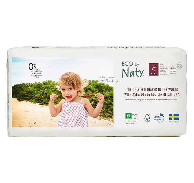 Подгузники naty: выбираем эко трусики и детские одноразовые памперсы, отзывы