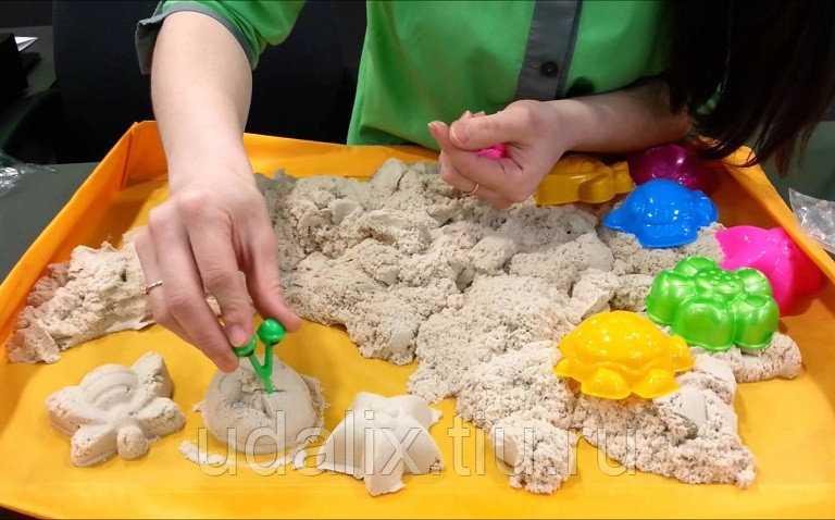 Кинетический или волшебный песок для лепки | аналогий нет