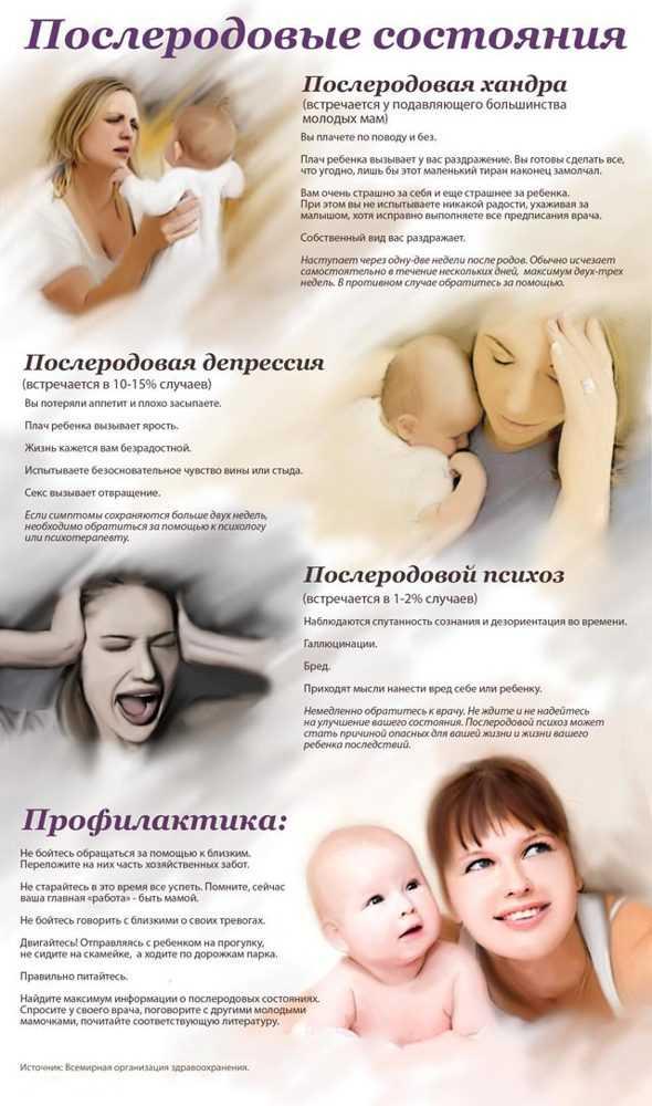 Как выявить и вылечить послеродовый психоз