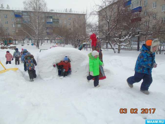 Зимние подвижные игры и забавы с санками | каракули