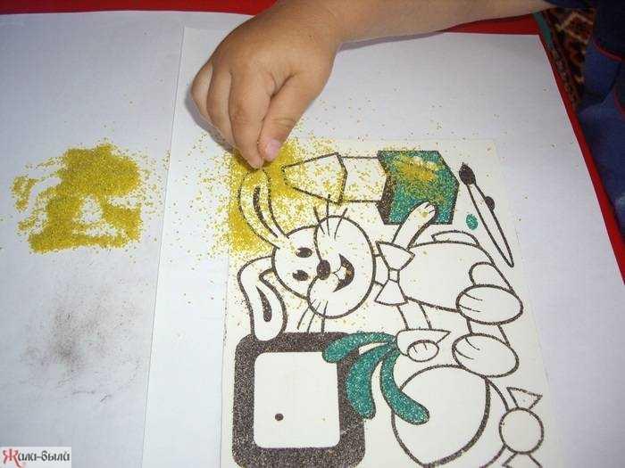 Фреска из песка – лучшее воплощение в жизнь своих фантазий